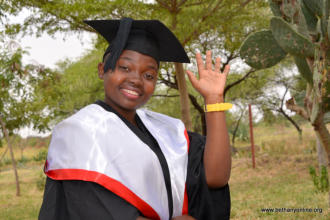Sophia gains first class honours degree